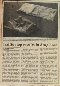 Police Beat drugbust